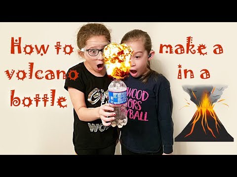 How to make a volcano || Vinegar and Baking Soda