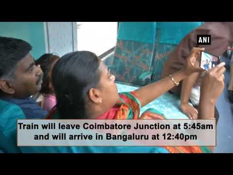 Coimbatore-Bengaluru Uday Express flagged off in Coimbatore