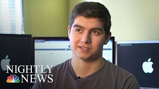 Meet The Teen Who Exposed The IPhone Battery Flaw | NBC Nightly News