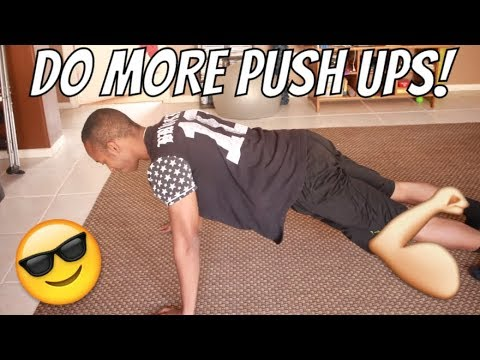 How To Do More Push Ups Without Getting Tired For Beginners!