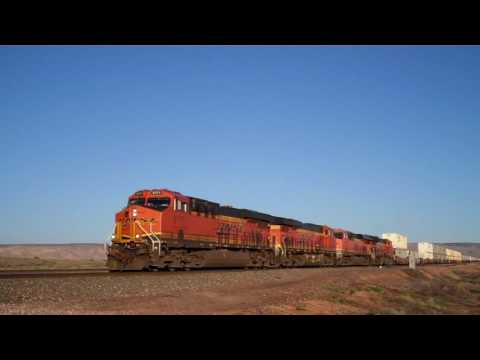 Railfanning the BNSF Transcon 4/15/17 (Feat. Warbonnets, SD70ACe leader, and much more)