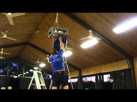 TV Magic installs media entertainment system at Camp Duckadang