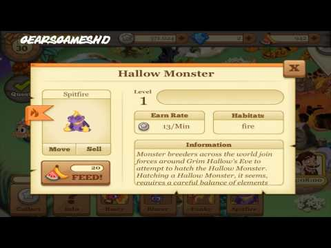 How to breed Hallow Monster FIRST TRY! in Tiny Monsters [LIMITED]