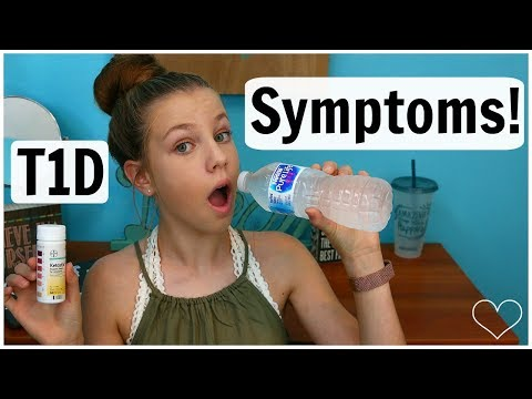 HOW DO YOU KNOW IF YOU HAVE DIABETES?! Symptoms Of T1D! | Laina Elyse