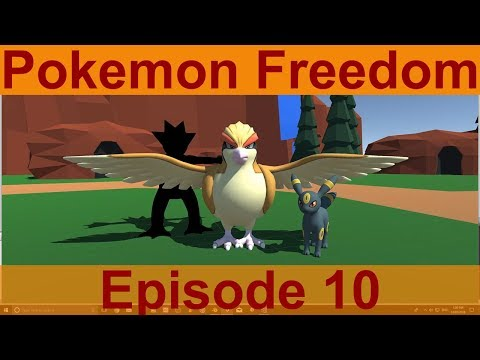 Unity Game Creation: Pokemon Freedom Ep.10 - Project Update