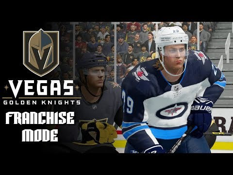 NHL 18 Franchise Mode Vegas Golden Knights Ep. 12 – Can we Stop Laine?- NHL 18 Franchise Mode