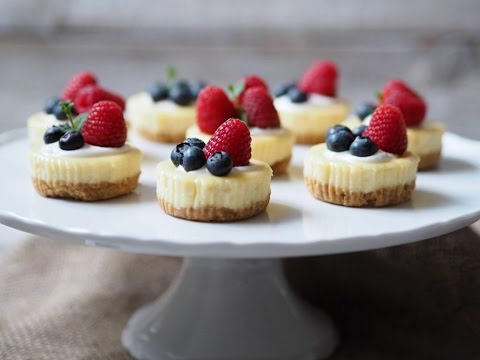RECEPT | Mini Cheesecakes