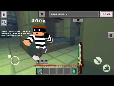 Cops N Robbers Jail Break 2 - Easiest way to escape Jail. (Secret Passage.)