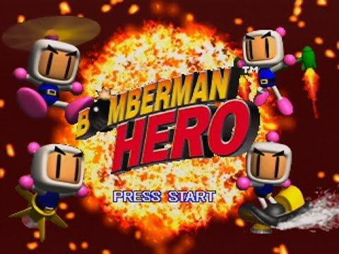 Bomberman Hero - Intro Video