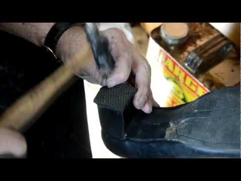Shoe Repair: Women's shoe rubber heel