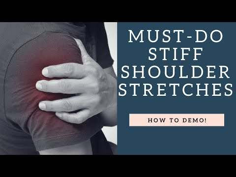 GREAT Shoulder Stretches For Shoulder Pain And Stiffness | How To Demo