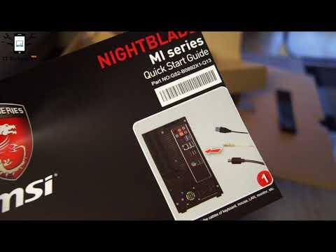 MSI Nightblade Gaming PC unboxing - MI series