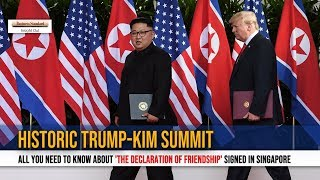 Trump-Kim summit: All you need to know about