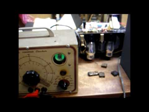 Testing of some mica, and paper, capacitors (yes, mica capacitors can fail)
