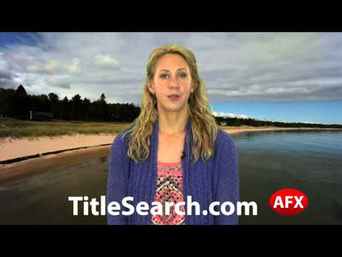 Property title records in Alger County Michigan   AFX