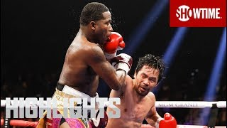 Pacquiao vs. Broner: Highlights | SHOWTIME PPV