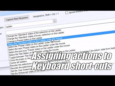 Using Bet Angel - The keyboard short-cut editor