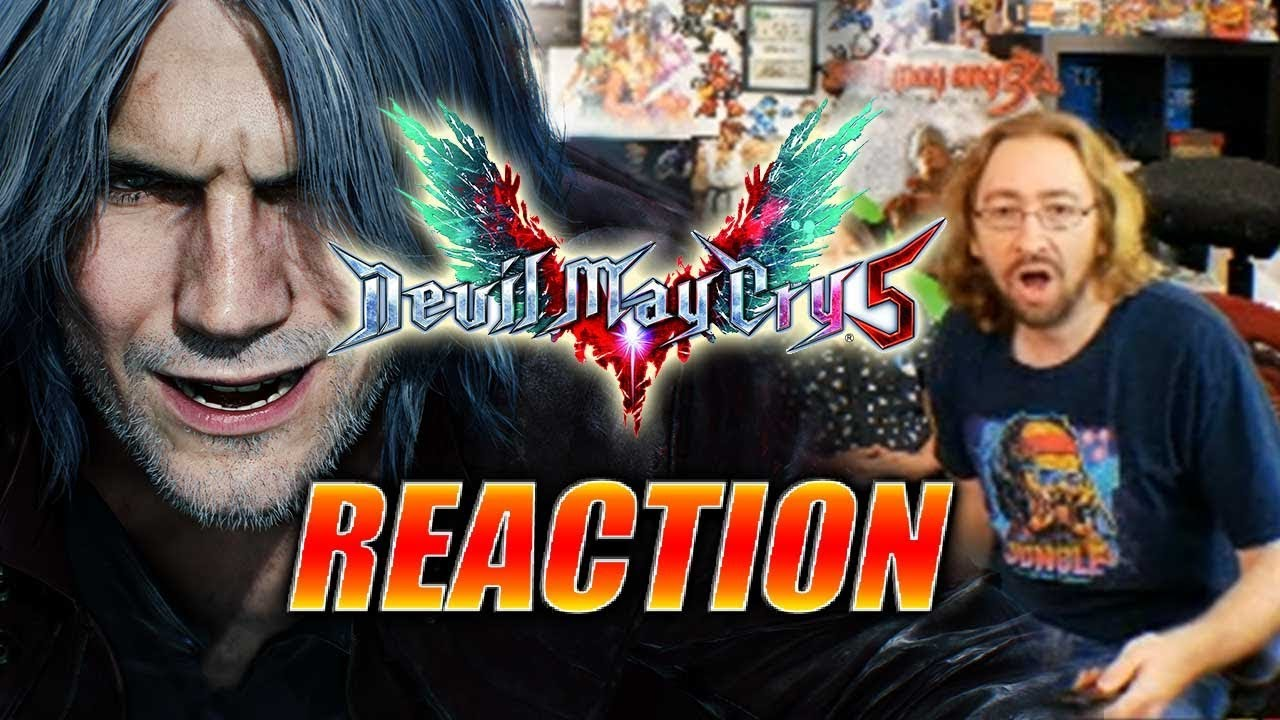 MAX REACTS: Devil May Cry 5 - Reveal Trailer