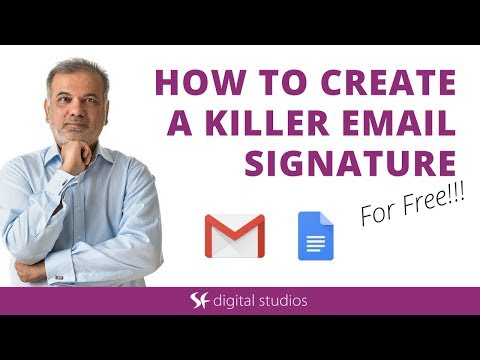 How To Create A Killer Email Signature...For Free!!