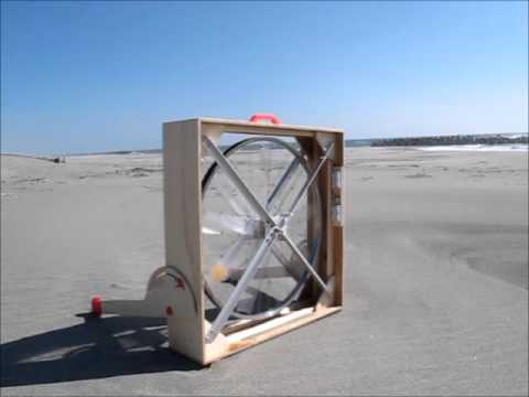 bicycle wheel portable wind generator/ポータブル風力発電機
