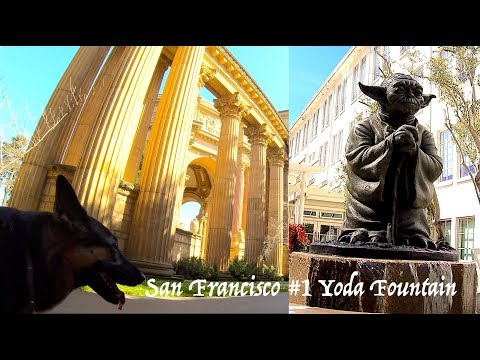 #1 LucasFilm and Yoda Fountain in San Francisco A Summary Video George Lucas' Office