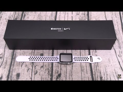 Apple Watch Series 3 Nike Plus Edition