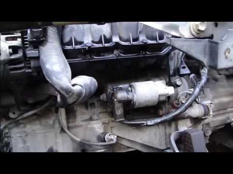 How To Replace Start Motor Toyota Corolla Vvt I Engine Years 2000 2008