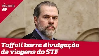 Toffoli usa crise para esconder viagens do STF
