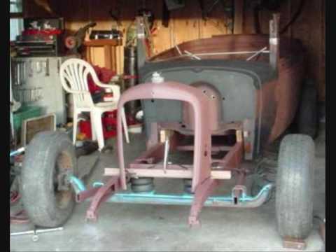 EVELYN #2- Hotrod Front Suspension 66' Chevy Van
