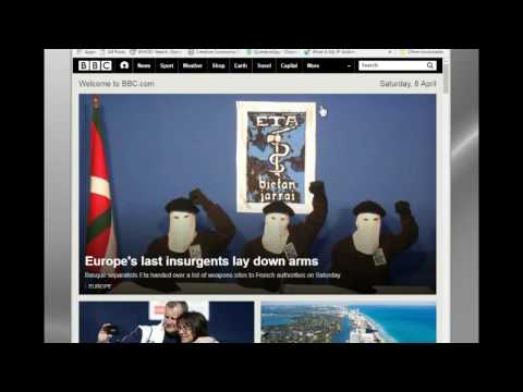 BBC News Streaming Over the Internet