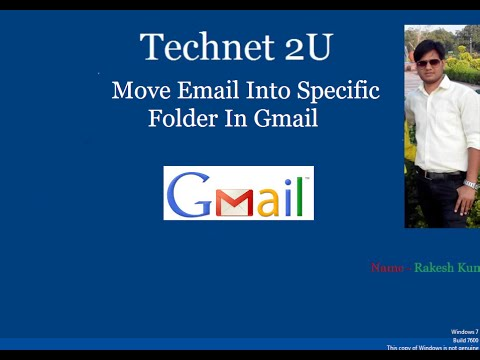 How to Move Email Into Specific Folder In Gmail Automatically