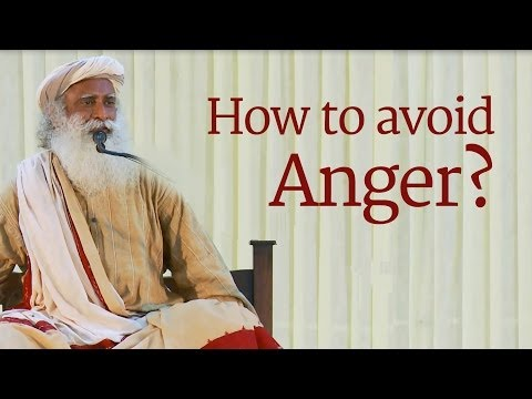 How to Avoid Anger? Sadhguru