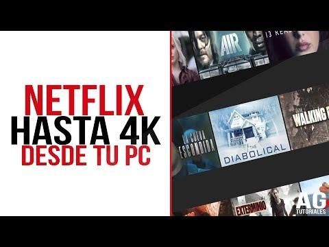 Activa el FULL HD de NETFLIX HASTA 4K