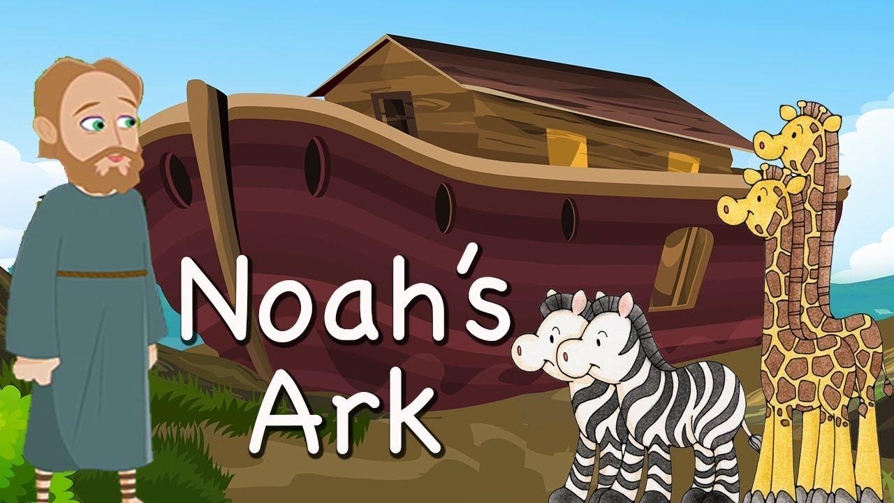 Download Noah's Ark | Bible Story For Kids -( Children Christian Bible Cartoon Movie ) The Bible's True Story MP3 Gratis