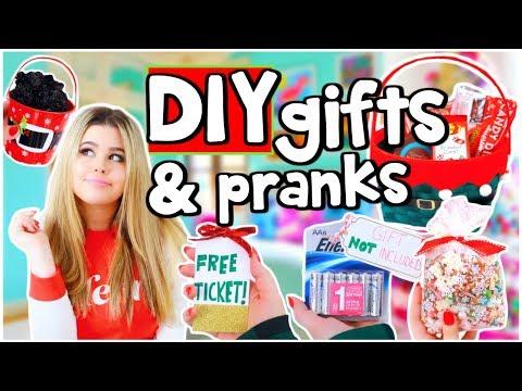 DIY Holiday Gifts/Stocking Stuffers & Prank Ideas!