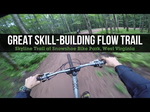 Great Skill-Building Jump Trail - Skyline at Snowshoe Mountain Bike Park