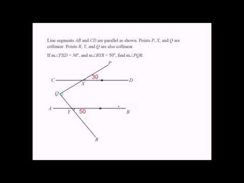 A Middle School Geometry Problem Involving Angles