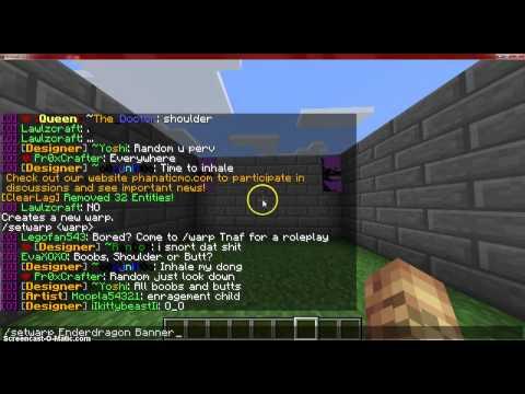 Minecraft How to Set a Warp