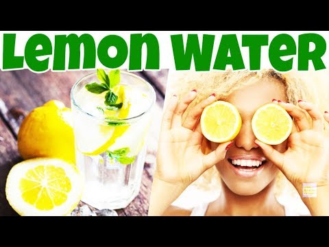 Drink LEMON WATER Instead If You Have ONE of These [13] Problems/Diseases