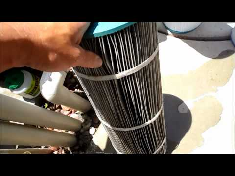 Replacing your Cartridges in you pool filter