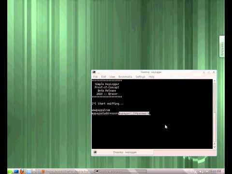 Suse Linux against keylogger (Part 3)