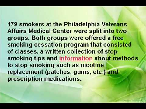 Stop Smoking Tips and Research Reports