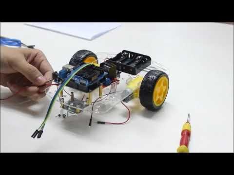 How To Make Aitreasure Smart Robot Car Arduino Bluetooth Control Assembly Tutorials