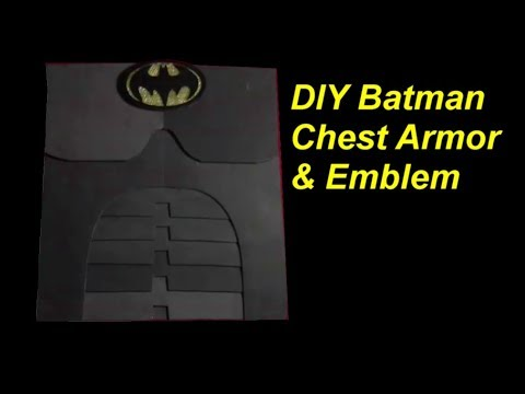 How to Make a Batman Costume: Emblem and Chest Armor
