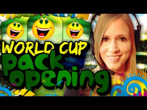 FIFA 14 ULTIMATE TEAM   WORLD CUP PACK OPENING  I WANT RONALDO