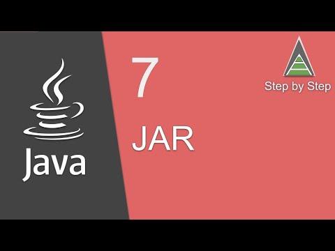 Java Beginner Tutorial 7 - JAR (Java Archive) basics