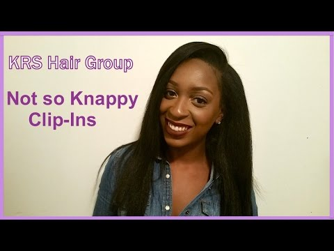 KRS Hair Group| Not So Knappy Clip Ins