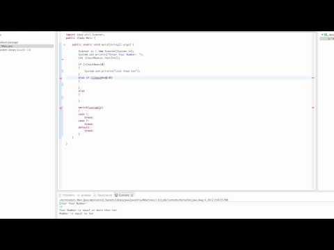Java Tutorial 3 - If Statements