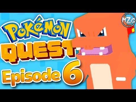 Pokemon Quest Gameplay Walkthrough - Episode 6 - World 5! Charmeleon!(Nintendo Switch)
