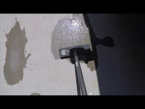 EASY WAY TO REMOVE RUST  STAINS FROM DRIVEWAY !!!!